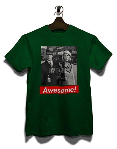 Awesome 15 T-Shirt Dunkel Grün