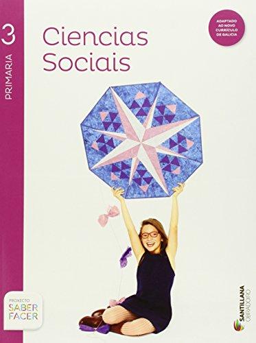 Ciencias sociales + atlas 3 primaria obradoiro