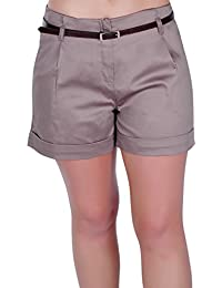 Amazon.co.uk: Brown - Shorts / Women: Clothing
