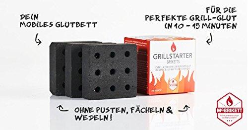 418Uleo4c9L - McBrikett GRILLSTARTER BRIKETTS 3er Pack