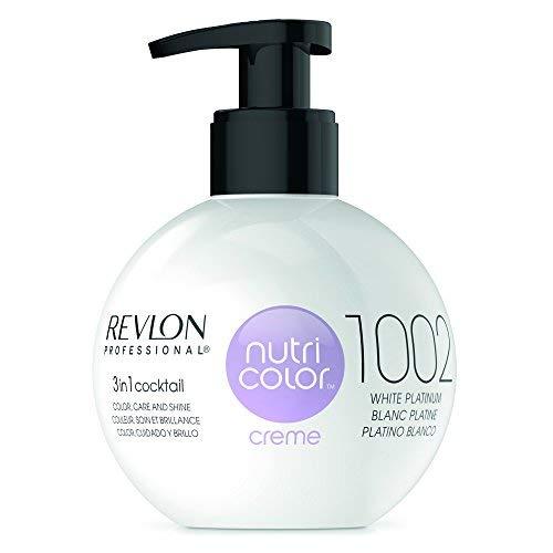 REVLON PROFESSIONAL Nutri Color Creme ,Nr. 1002 White Platinum, 1er Pack (1 x 270 ml) -