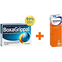 Sparset Erkältung Boxa Grippal 20 Filmtabletten & Mucosolvan 30 mg pro 5 ml 250 ml 1 Set preisvergleich bei billige-tabletten.eu