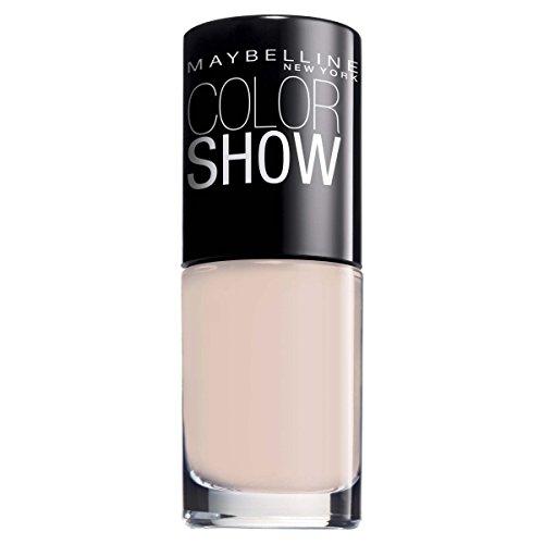 Maybelline ColorShow Nagellack, Nr. 31 Peach Pie, bringt die Laufsteg-Trends aus New York auf die...
