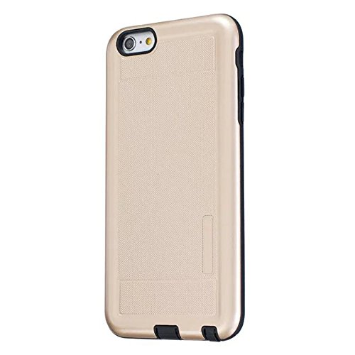 JIALUN-Telefon Fall Solid Color Shock Back Cover Telefon Fall für Apple IPhone 6S Plus 5,5 Zoll ( Color : Gray ) Gold