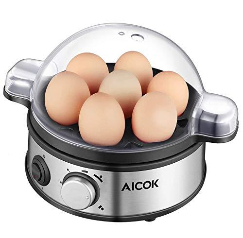 Come per far bollire perfettamente un uovo morbido uova o sodo? Aicok è la vostra risposta per ottenere le uova cotte perfettamente ogni volta! Se avete voglia di un coque, medio o sode, questo prodotto ve lo permette di fare ogni volta. Egg Cooker s...