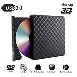 LXIANGP External USB3.0 Mobile Dvd Blu-Ray Registrazione Registratore CD HD 3D Video Lettore Video Notebook Compatibile Macchina Desktop Window XP/2003/Vista /WIN7 /WIN8 /WIN10 /Linux/Sistema Mac OS