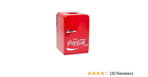 Red Color MINI FRIDGE THERMOELECTRIC MOBICOOL F15 AC//DC 14L