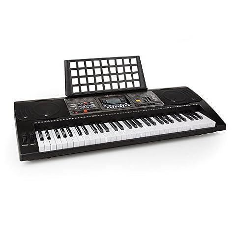 Schubert Etude 450 Piano électrique (USB, MIDI, 61 touches, fonction enregistrement, 460 instruments et 65 morceaux de démo, enregistrement et playback)