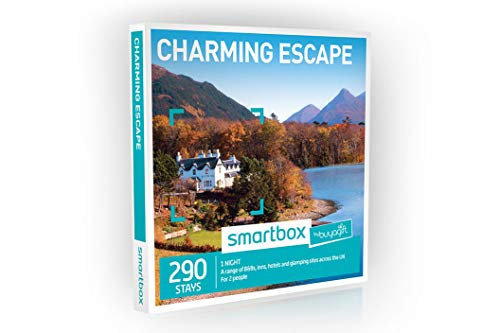 Buyagift One Night Charming Escape Experience Gift Box - 290 overnight stays with breakfast for two people