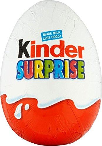 Kinder Uovo Di Cioccolato Sorpresa (20g) (Confezione da 6)