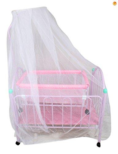 Baybee Elita Crib N Cradle (Pink)