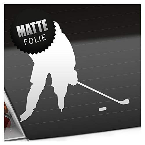 Kiwistar Eishockey Puck Figur Aufkleber Sticker 25 Farben Neon Matt