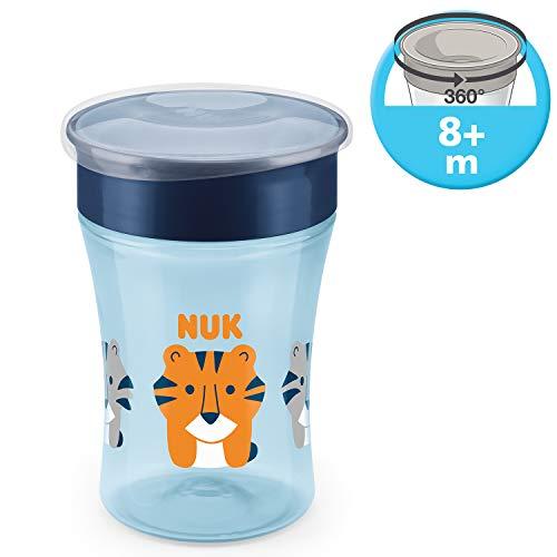 NUK Magic Cup Trinklernbecher, 360° Trinkrand, auslaufsicher abdichtende Silikonscheibe, 230ml, BPA-frei 4