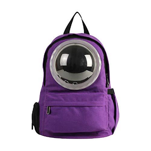 Haustier-Fördermaschine, Katze-Hundewelpen-Reise Wandern Camping Pet Carrier Rucksack, Raumkapsel Blasen-Entwurf, wasserdichter Soft-seitig Handtasche Rucksack für Katze und kleine Farben zur Auswah -
