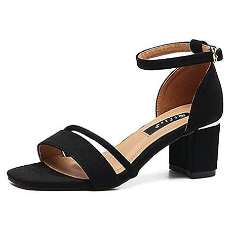 Grosse Chaussure - Chic Elegant Sandales Chaussures à Haut Talons