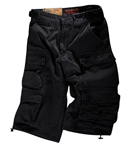 Jet Lag Cargo Shorts 007 schwarz XL