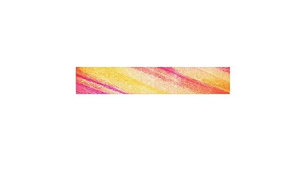 Kess InHouse JD1030ATR01 EBI Emporium All That Jazz Yellow Pink Table Runner