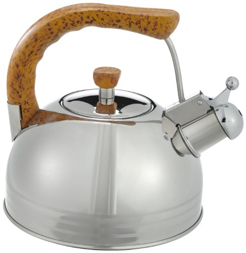 Caferera Pava Lacor 68627 - de Acero inoxidable y 2.5 litros.