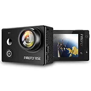 Firefly 8SE TOUCHSCREEN Native 4K Action Camera with 90 Degree NO DISTORTION LENS, six-axis gyro video stabilization, frontal selfie mirror and rich set of accessories. Firefly 8S successor