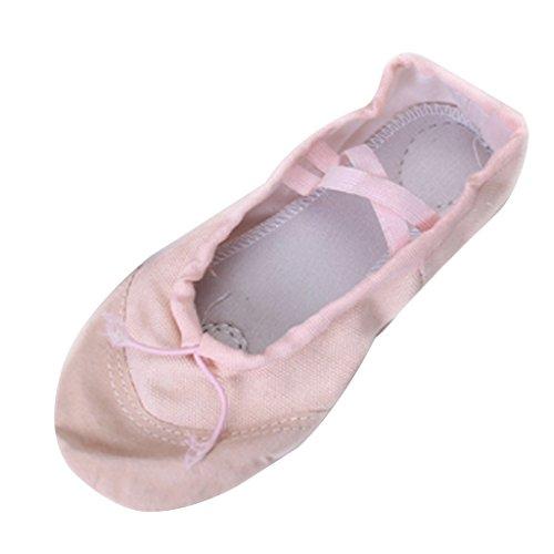 Preisvergleich Produktbild Suess Tanzen Schuhe Schlaeppche Ballettschuhe Gymnastikschuhe Pink Gr. 30 f. Kinder