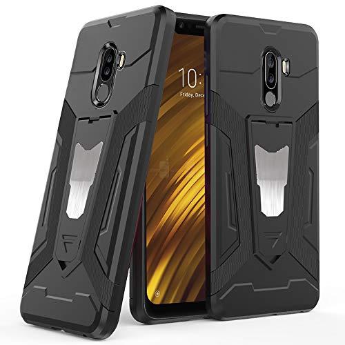 Ferilinso Funda Xiaomi Pocophone F1, Híbrido Armadura Holster Defender Protección Corporal Completa...