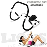 Best Ab Exercises - Abdominal Abs Cruncher Excercise Roller Ultimate Ab Crunch Review