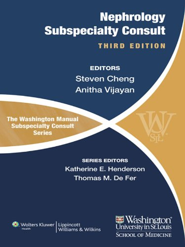 The Washington Manual of Nephrology Subspecialty Consult (The Washington Manual Subspecialty Consult Series) (English Edition)