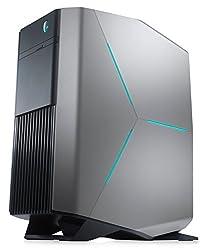 Dell Alienware Aurora R7 Gaming Liquid Cooling Desktop (Epic Silver) - (Intel Core i7-8700, 32 GB RAM, 512 GB SSD Plus 2 TB HDD, 11 GB NVIDIA GTX 1080Ti Graphics Card, Windows 10 Home)