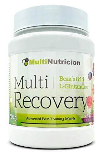Multi Recovery 8:1:1 - Recuperador Muscular En Polvo A Base De Aminoá