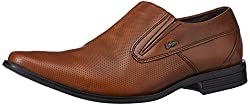 Lee Cooper Mens Tan Leather Formal Shoes - 7 UK/India (41 EU)