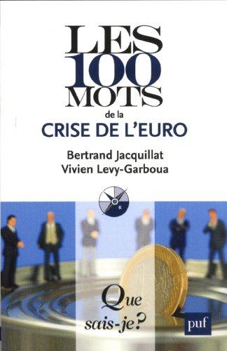 Les 100 mots de la crise de l'euro