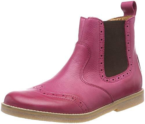 Froddo Mädchen Girls G3160080-9 Chelsea Boots, Rot (Fuxia I19), 28 EU