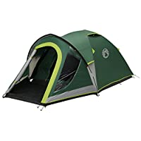 coleman tent kobuk valley 3/4 plus,3/4 man tent blackout bedroom technology, festival essential, 1 bedroom family dome tent, 100% waterproof camping tent sewn in groundsheet