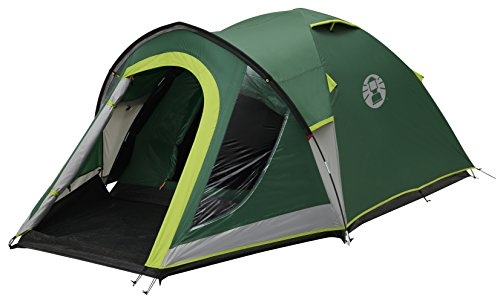 Coleman Tent Kobuk Valley 3/4 Plus,3/4 man tent BlackOut Bedroom Technology, Festival Essential, 1 bedroom Family Dome Tent, 100% waterproof Camping Tent sewn in groundsheet 1