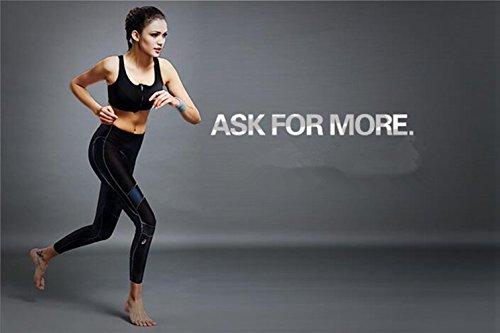 Kry Soutien-gorge Sans Jantes professionnelle réglable haute résistance aux chocs avec fermeture éclair pour femme pour Course à Pied Sport et Fitness Yoga femelle rouge - Rouge