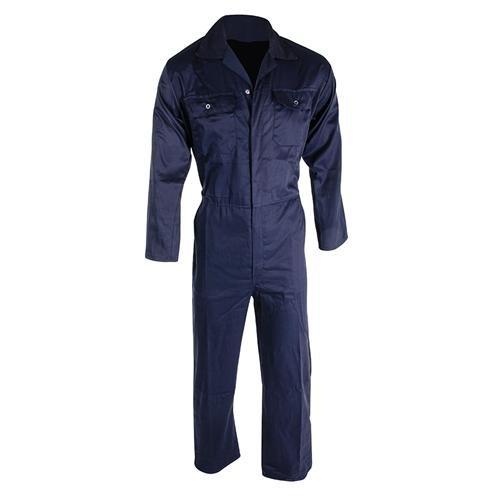 Sicherheit und Workwear Kleidung Boilersuit Navy, L 112 cm (111.76 cm), Marineblau mit elastischem waist. Latzhose, 65% polyester, 35% Baumwolle,...