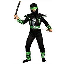 Grüner Ninja Kostüm