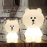 HELA Entzückende 31cm Lampen von Bear Brown Dekorative Lampe für Kinderzimmer (Bear Brown)