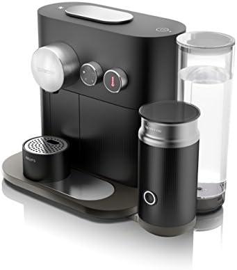 Nespresso Krups Expert&Milk XN6018 - Cafetera de cápsulas, color negro