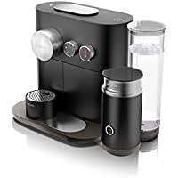 Nespresso Intenso Krups Expert & Milk XN6018 Cafetera de cápsulas de 19 bares con 4 programas de café, aeroccino integrado y conectividad a la app de Nesspreso, color negro