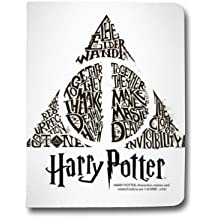 Leather flip Case carcasa Ipad Air WB License harry potter pattern - Hollows triangle Bl