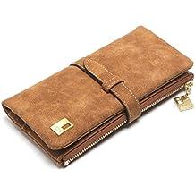 Gr8Life Damen Geldbörse Damen Geldbeutel Lange Portemonnaie