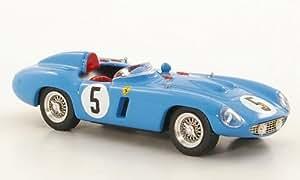 Ferrari 750 Monza, No.5, 1000km Paris, 1956, voiture miniature, Miniature déjà montée, Art Model 1:43
