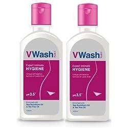 VWash Plus Expert Intimate Hygiene - 100ml (pack of 2)