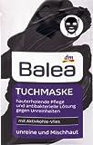 Balea maschera facciale con carbone attivo in pile, 2pezzi–Prodotto tedesco