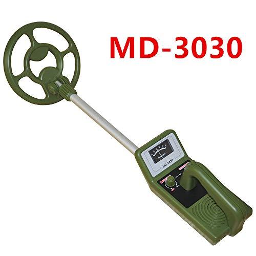 HENGKANG Detector De Metales MD3030 Porque Alta Sensibilidad Impermeable Subterráneo Detector De Metales Joyería Caza Búsqueda del Tesoro Búsqueda del Tesoro Monitor LCD