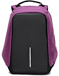 Anti-Theft Backpack with Usb – Zikken High-Capacity Travel Bags, School Bags, Laptop Backpack, with USB Charging Port