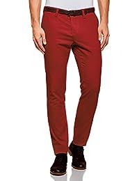 a3018d1296db Amazon.fr   Chino - Rouge   Pantalons   Homme   Vêtements