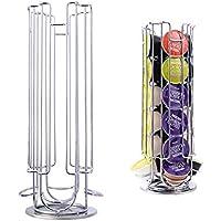 Dispensador giratorio de cápsulas de café con soporte para torre de 24 cápsulas para Dolce Gusto
