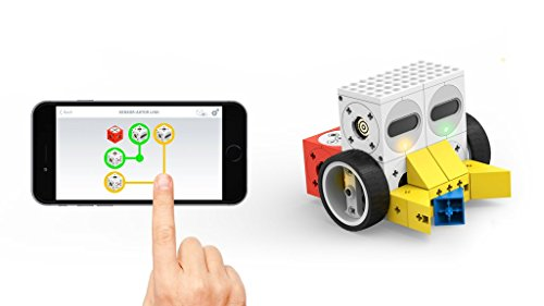 Robotic building kit Tinkerbots Sensoric Mega Set – Build robotic toys like remote controlled cars, programmable robots, animals, monsters and machines yourself and control them per app on your smartphone
